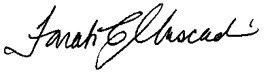 Image of Director of Office of Police Oversight's signature